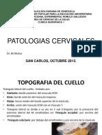 PATOLOGIAS CERVICALES