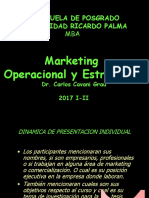 Naturaleza y Fundamentos Del Marketing Contemporaneo