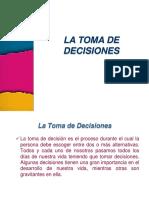 Sesión Nº 01 La Toma de Decisiones
