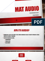 format audio