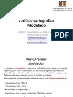 5. Análisis Variográfico - Modelado