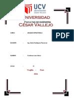 PREDIMENCIONAMIENTO ESTRUCTURAL Y METRADO DE CARGAS