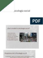 Clase 2 Psicología Social Cronología