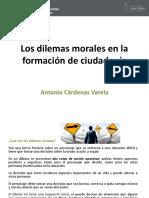 Los Dilemas Morales en La Formación de Ciudadanía