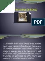 Presentación Ley de Profesiones en Mexico.