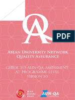 Guide to AUN-QA Assessment at Programme Level Version 3_2015_En