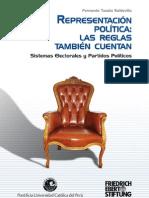 Representación Política, las reglas también cuentan (Libro)