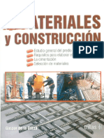 Materiales Y Construcción - Gaspar de La Garza (2da Edición)