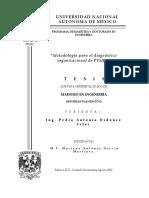 metodologia para el diagnostico organizacional