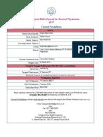 Formulir Pendaftaran BSS GP
