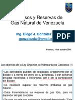 Recursos y Reservas de Gas en Venezuela