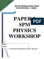Physics p2 Workshop Mrsm Tawau