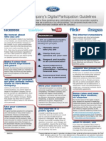 Ford Social Media Guidelines