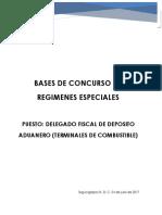 Bases de Concurso Delegado Fiscal de Terminal de Combustible