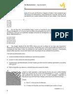 Ficha - Matemática