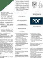 Instructivo General- Servicio Social - Falcultad de Filosofía  y letras UNAM