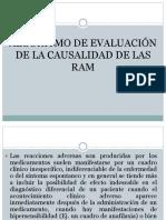 Algoritmo de la Evaluacón de la causalidad de las RAM.pptx
