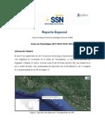 Reporte Sismo Mexico 8.2