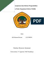 Pentingnya Akuntansi Manajemen Dan Sistem Pengendalian Yang Digunakan Pada Organisasi Sektor Publik Di Indonesia
