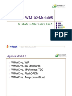 WIM102 WiMAX vs Alternative BWA