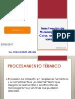 13-Inactivacion de Mo Por Calor y Radiciaciones Inonizantes