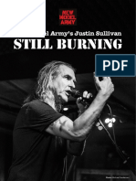 New Model Army's Justin Sullivan – Still Burning