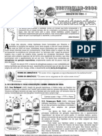 Biologia - Pré-Vestibular Impacto - Origem da Vida I