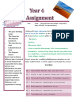 year 4 assignment term 4 2017