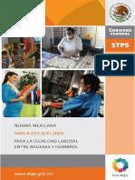 2. Norma Mexicana Para La Igualdad Laboral