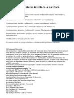 CLI Command Hierarchy