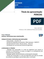 Aula 1 Especialização Pericias Natal - Patologias - Jun 2017