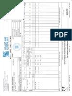 Mill Test Certificate 494