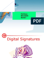 E-Commerce With Digital Signature