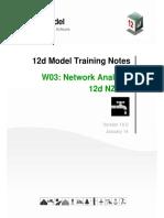 V10 12d NZ - W03 Network Analysis
