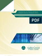 B.C. Auditor-General's Report