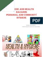 Hygiene and Health Hazards