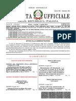 Gazzetta Ufficiale Italia