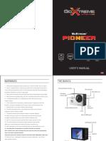 Goxtreme Pioneer Manual En