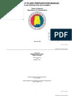 Alabama DOT Roadway Plans Preparation Manual