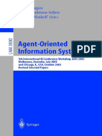 AGENT-ORIENTED INFORMATION SYSTEMS