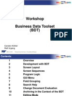 Workshop - Business Data Toolset