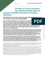 cardiotoxicitatea chimioterapicelor
