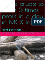 Trade Crude to Make 3 Times Profit in a Day in MCX India 3rd Edition_nodrm