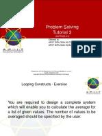01 Tutorial Problem Solving 3