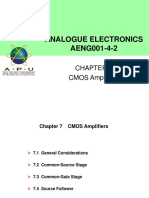 Chapter 7 - CMOS Amplifiers