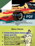 Sistem Bahan Bakar Efi (Elektronic Fuel Injection)
