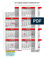 Anexo II Calendario Laboral 2017