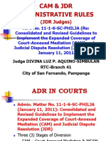 Segment 5 - FAQs ANSWERS CAM & JDR RULES DLPAS October 2015.ppt