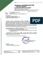 Surat Edaran Direktur P2PML Mengenai Alur Diagnosis TB Dan TB RO