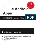 Native Android Apps